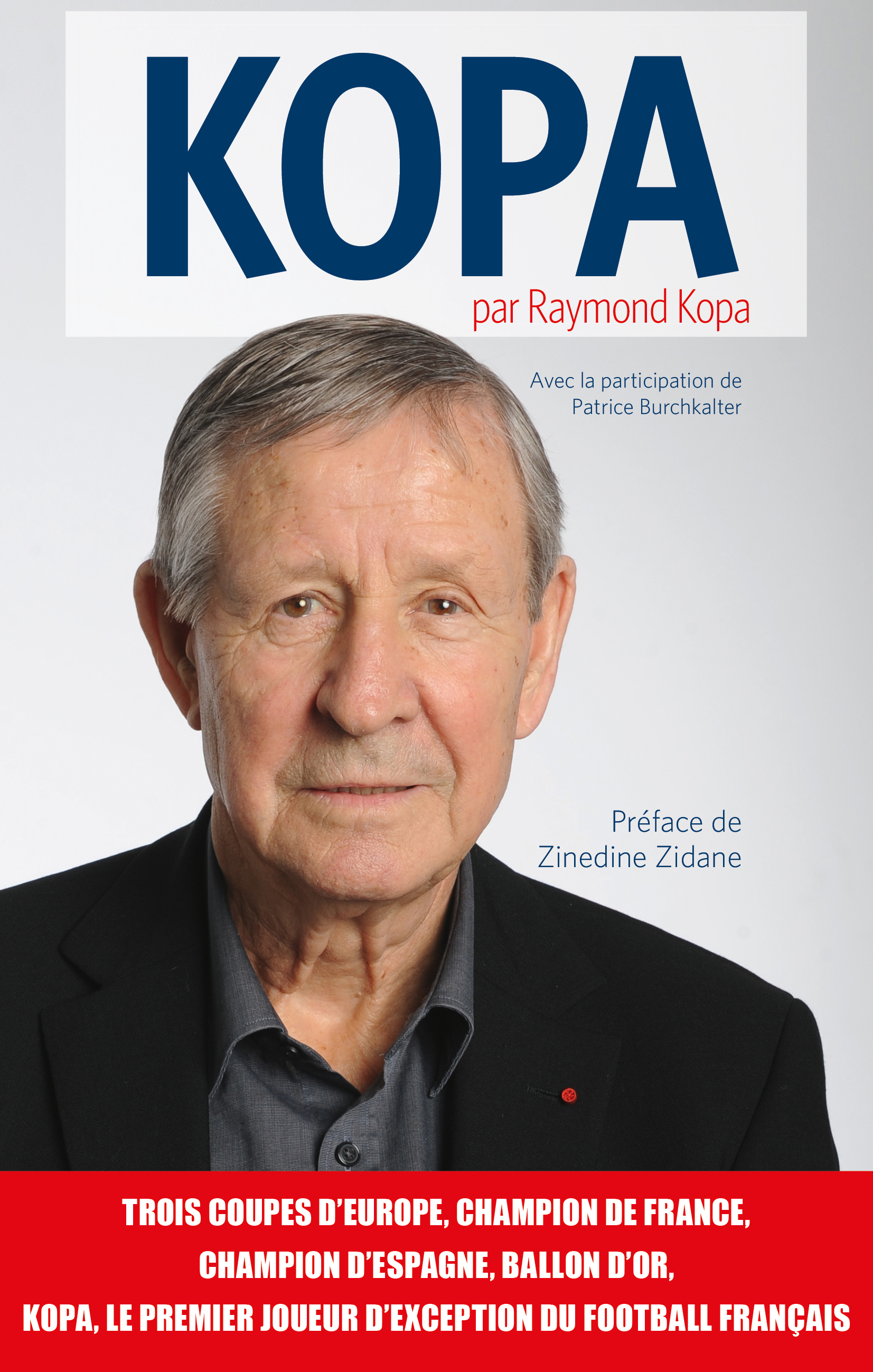 champion du football fran§ais Raymond Kopa en dédicace  Porticcio