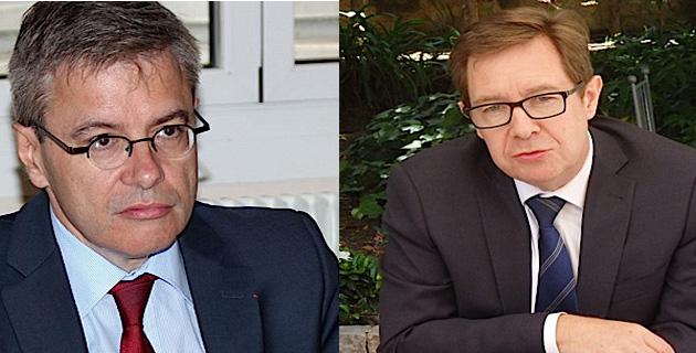 Alain Thirion et Bernard  Schmeltz
