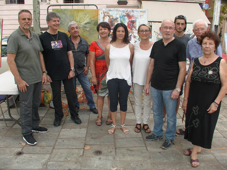 Bastia : Quand Cyan'Art fait son marché !