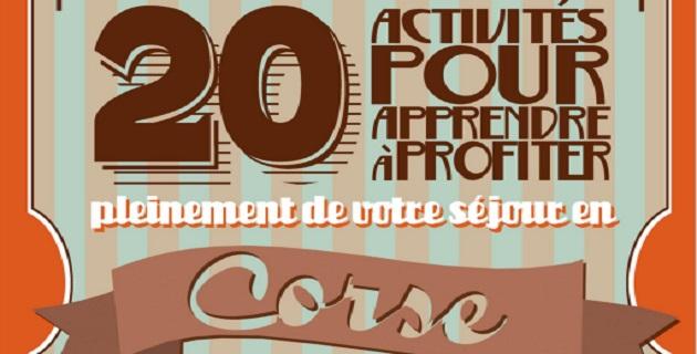 Un cahier d'activités pour profiter pleinement de votre séjour en Corse