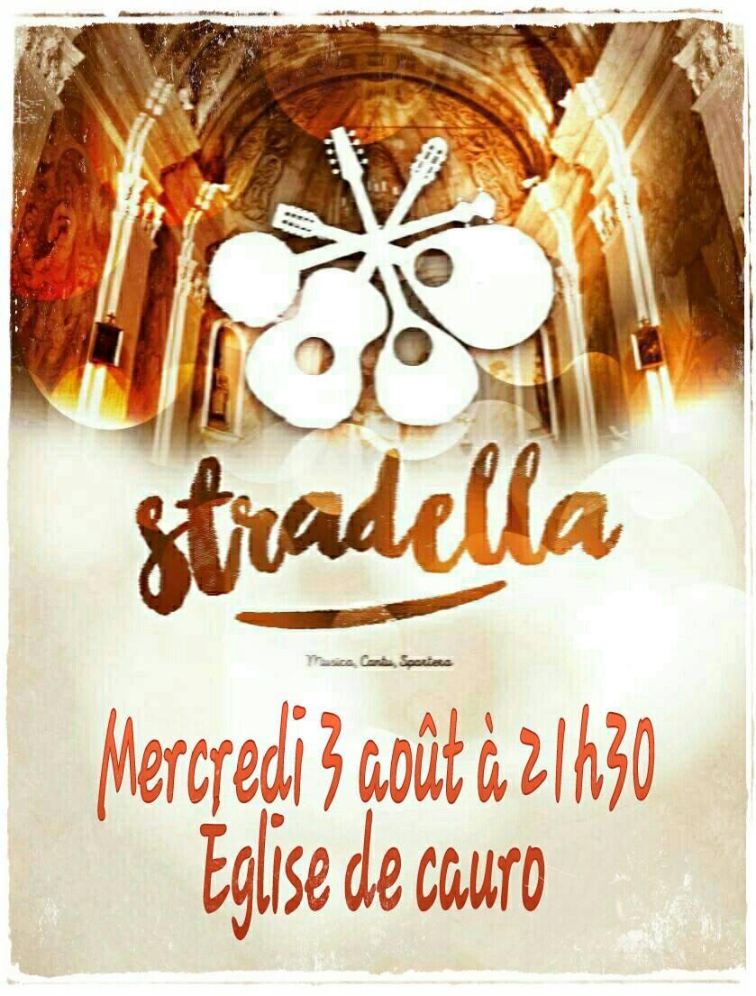 Concert : Le groupe Stradella le 3 Août à Cauro