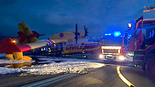 """Après """"l'incident"""" d'Ajaccio tous les Canadair restent au sol pour contrôle"""