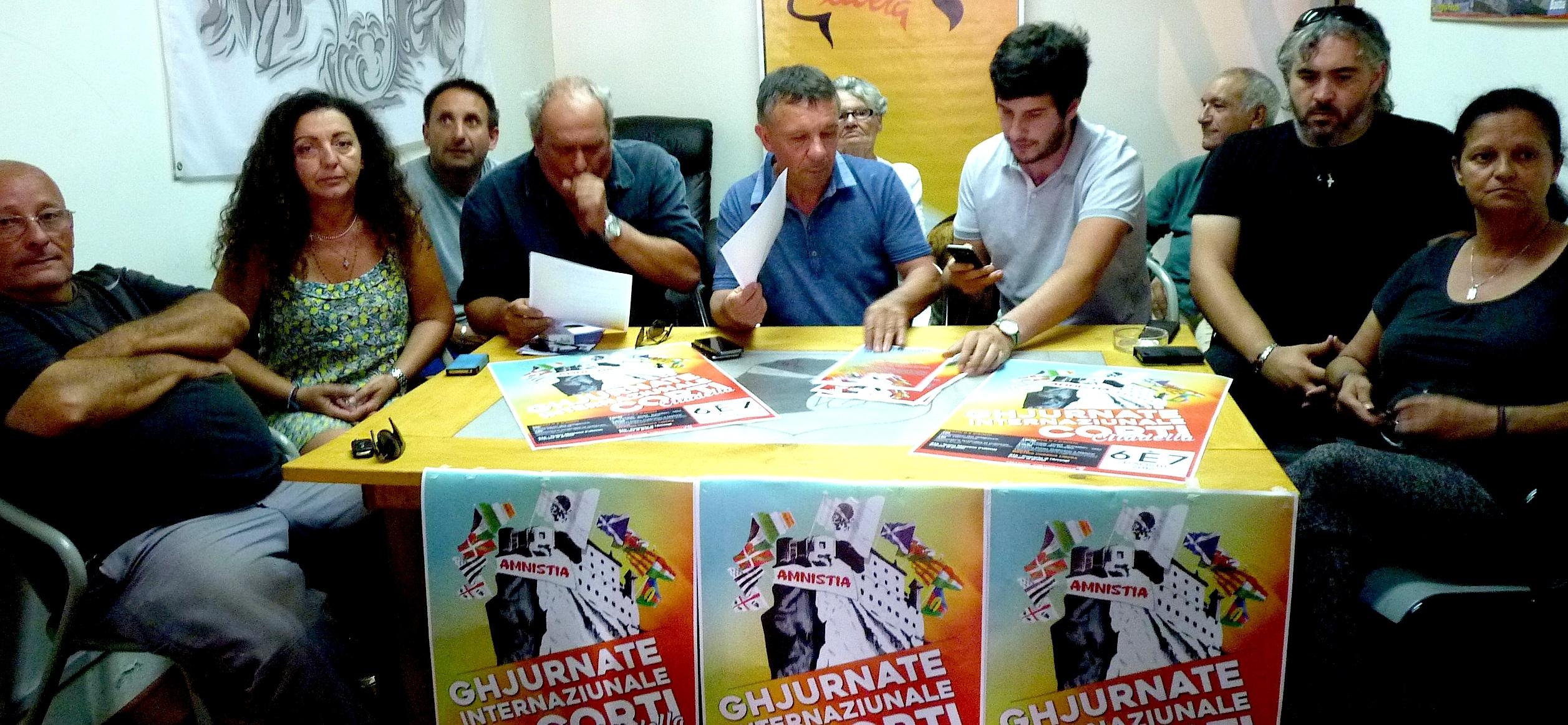 Trentacinquesimi Ghjurnate Internaziunale di Corti : Amnistie, répressions syndicales et politiques… Et avenir