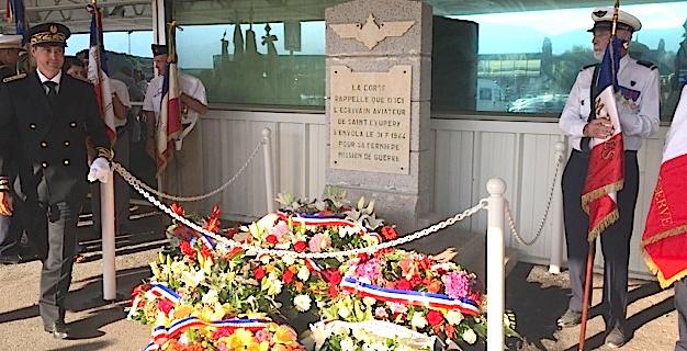 L'aéroport de Bastia-Poretta commémore le dernier vol de Saint-Exupéry