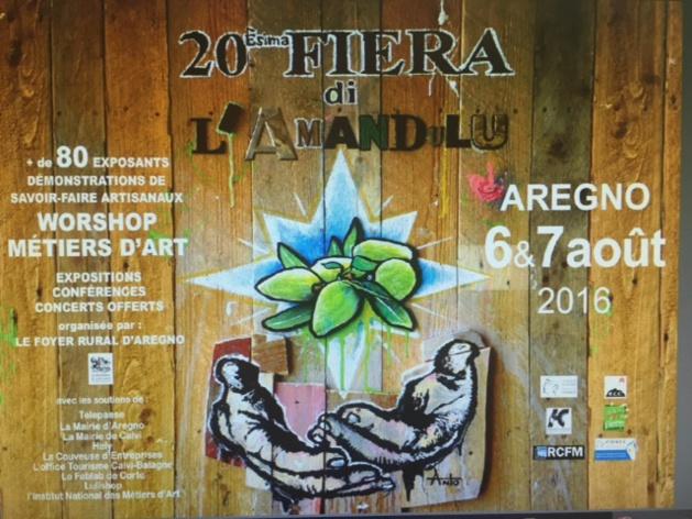 20e Fiera di l'Amandulu in aregnu les 6 et 7 août