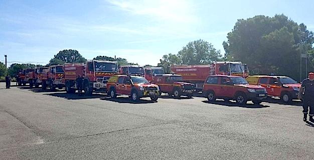 (Crédit photo @Sapeurs-pompiers Ardèceh)