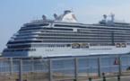 Le Seven Seas Explorer, le bateau de croisière le plus luxueux au monde, fait escale à Bastia