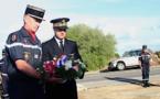 A la mémoire des sapeurs de l'UIISC5 de Corte, victimes de l'incendie de Palasca