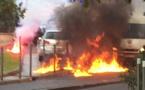 Bastia : Incidents après la dispersion de la manifestation