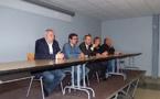Immersion dans le Fium'Orbu pour le président de l'assemblée de Corse Jean-Guy Talamoni