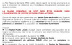Santé: Des tracts appelant à manifester distribués aux ronds points de Ghisonaccia et Prunelli