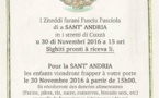 Sant'Andria in i stretti di Cuzzà u 30 di Nuvembri