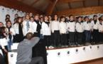Festa di a Nazione in Miomu : A scola canta è incanta