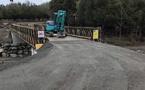 Réouverture à la circulation du pont de la vallée de Casaluna