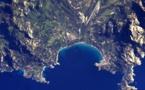 Des photos de la Corse et de la Balagne vues de l'espace par Thomas Pesquet