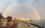 L'image du jour : L'Ile-Rousse dans sa bulle arc-en-ciel