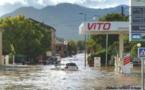 """Intempéries en Haute-Corse : Des dispositifs exceptionnels """"pour répondre à la situation d'urgence"""""""
