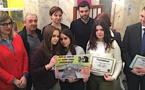 Sécurité routière : Les collégiens et leurs affiches récompensés à Bastia