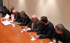 Bastia : Signature de la convention pour le Grand Site de Patrimonio