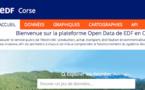 Open data : EDF en Corse ouvre ses données à tous