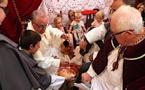 Messe de la Passion du Christ, bénédiction des Canistrelli et cérémonie du lavement des pieds à Calvi
