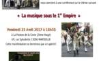 """Marseille : """"La musique sous le 1er Empire"""" à la Maison de la Corse"""