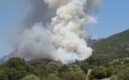 Important feu de maquis à Cuttoli