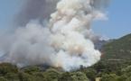 Cuttoli: 20 hectares parcourus par les flammes