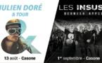 Gagnez vos places pour le concert de Julien Doré à Ajaccio avec Key-Prod et CNI