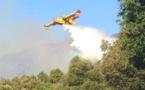 Incendies : Nouveaux foyers en Corse du Sud