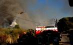 Incendie très virulent à Suare : maisons menacées et personnes évacuées
