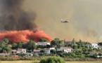 Incendie de Calenzana : Le feu de Suare toujours pas maîtrisé, maisons menacées, habitants évacués