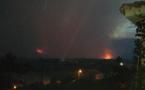 Le feu arrive dans la vallée de Pietracorbra