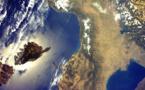 La Corse vue de l'espace par Paolo Nespoli