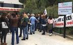 Santé : Les personnels de l'UMSC dans la rue à Bastia