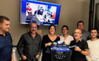 Le maillot du Collectif du 5-Mai à la section Corse des journalistes de sport