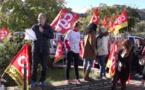 Bastia : Des centaines de salariés rassemblés devant la préfecture de Haute-Corse