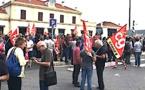 CGT, FO et FSU : Faible mobilisation à Ajaccio à l'appel de l'intersyndicale