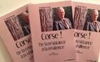 """""""Corse ! De la résistance à la résilience"""" : Le dernier livre d'Edmond Simeoni"""