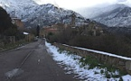 Météo : Dès chutes de neige attendues sur l'Est de la Haute-Corse entre 600 et 800 m