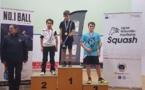 Tristan Mebarek  (Ile-Rousse) en bronze  aux Championnats de France U11/U15 de Squash
