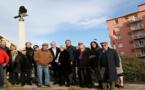Ajaccio : Retour de l'Aigle Impérial quartier Saint Jean