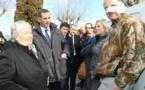 Incendies : La ministre à l'écoute des sinistrés, des élus et des pompiers
