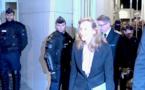 Nicole Belloubet, ministre de la Justice a rencontre les représentants syndicaux du centre de détention