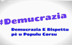 «Demucrazia è Rispettu pè u populu corsu» : Tractage de soutien aux élus corses