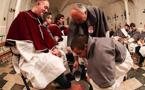 Ghjovi Santu : Le rituel du lavement des pieds à Calvi
