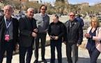 Jean Todt, Nicolas Deschaux et Bruno Saby honorés par la Ville de l'Ile-Rousse
