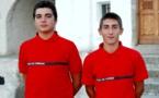 Deux jeunes Corses deviennent les plus jeunes médaillés dans l'histoire du bénévolat de sécurité civile
