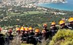 Formation aux feux de forêts pour les nouvelles recrues du SIS 2B en Balagne