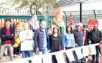 Bastia : FO et la CGT bloquent le centre des impôts du Recipello